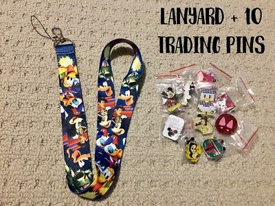 Disney Trading Pins Starter Set With Disney Lanyard And 10 Pins - Canada
