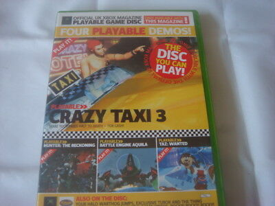 official uk xbox magazine demo disc 8 4 playable demos all listed
