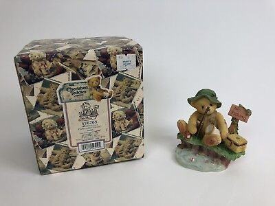 Cherished Teddies Norm #476765 - Patience Is A Fisherman's Virtue