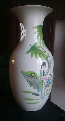 Vaso Cinese Anni 50 Porcellana chinese china chinoise Cina porcelain personaggi