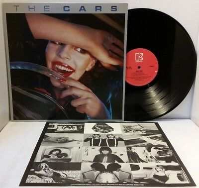THE CARS Self Titled LP 1978 Red Label Elektra Records 6E-135 - Tested NM *S6