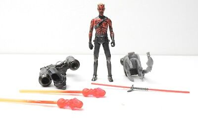 "Star Wars Darth Maul Robot Legs 3.75"" Action Figure Rebels complete"