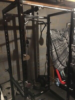 Mirafit M1 250kg Power Rack with Cable System