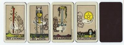 "Magnetic ""Waite-Smith"" Style Meditative Tarot Aces - All Four Suits!"