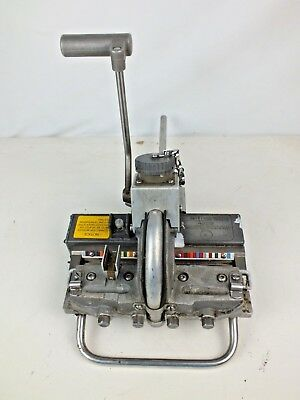 Western Electric 890E Cutter Presser with Test Plug  Serial Number: 18286