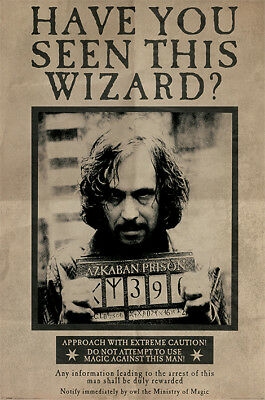 Poster - Harry Potter: Wanted Sirius Black (poster Maxi 61x91,5 Cm)