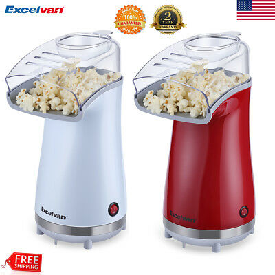 Popcorn Popper Machine Maker 16Cup Electric Air Pop +Removable Lid Measuring Cup