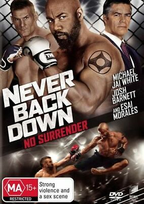 NEW Never Back Down DVD Free Shipping