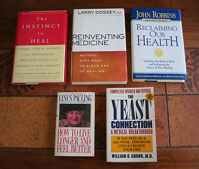 Lot Of 5 Seriously Good Health & Wellness Books with reviews Don't Miss Out !!!