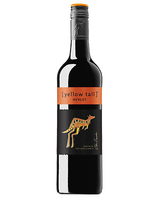 Yellow Tail Merlot Red Wine 750mL bottle