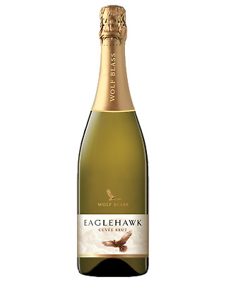 Wolf Blass Eaglehawk Cuvee Brut Champagne Sparkling 750mL case of 6