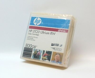 HP LTO 3 Ultrium 800GB RW Data Cartridge Tape C7973A