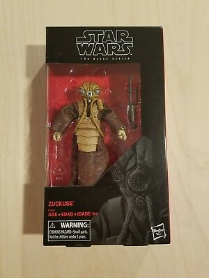 "Star Wars The Black Series 6"" ZUCKUSS (Brand New SEALED)"