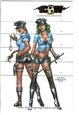 """Tomb Raider #16 - Grade Nm - """"busty Cops"""" Cover By Mike Choi"""
