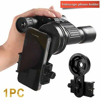 Universal Mobile Phone Adapter Clip Bracket Holder Mount Microscope Telescope US