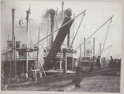 Lg Double Cabinet Photo of New Orleans Views – River Steamers & Jackson Statue