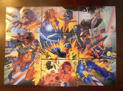 X-MEN Fleer Ultra 1994 Full Foil Trading Chase Card Set Stan Lee