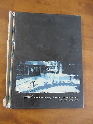 Bakersfield California Yearbook West High School 2003 Valhalla