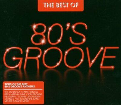 Various Artists - Best Of 80s Groove - Various Artists CD 3EVG The Cheap Fast
