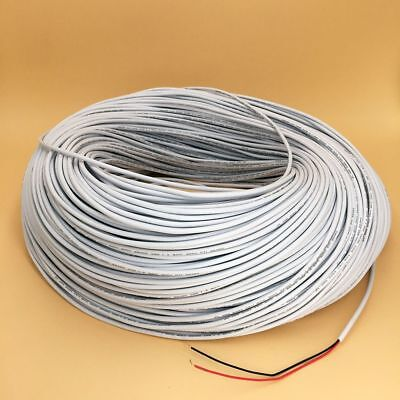 Electrical Cable Wire Insulated White Jacketed LED Extension AWG22 2Pin 3A Rated