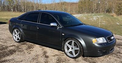 2003 Audi RS6  2003 Audi RS6     Excellent condition Daytona Grey with black leather