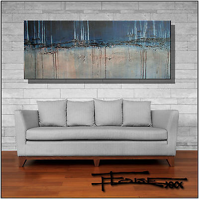Abstract Painting Modern Canvas Wall Art Framed Large USA ELOISExxx