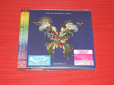 2018 Japan Coldplay Live In Buenos Aires 2 Cd Digi Sleeve With Obi