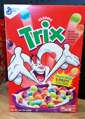 1 x General Mills Classic Trix Cereal 303g USA
