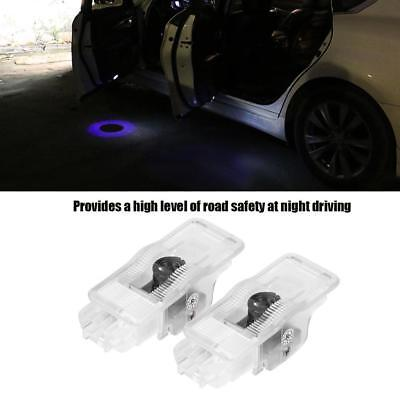 2X LED Car Door Led Welcome Laser Projector Logo Ghost Shadow Light For Peugeot