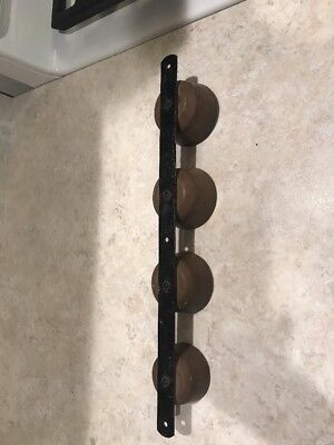 Old Vintage Graduating Top Of Door Hanging Door Brass Bells