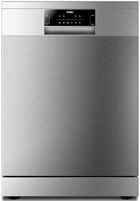 Haier HDW13G1X Stainless Steel Freestanding Dishwasher 13 Place Setting