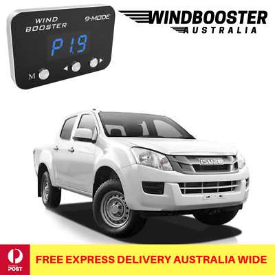 Windbooster 9-Mode Throttle Controller to suit Isuzu DMAX 2007-2011