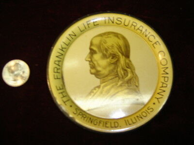 Franklin Life Insurance Co. Springfield Illinois. Tip Tray   5840