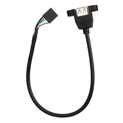30cm Usb 3 0 B Female To B Male 90 Degree Right Angle Extension