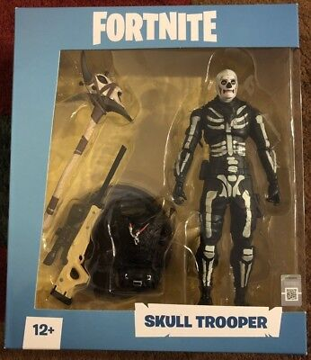 Fortnite Skull Trooper 7 inch Action Figureby McFarlane IN HAND!! Ready To Ship