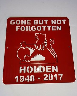 Painted Holden sign. Great for Mancave  Bar Shed
