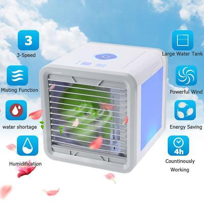 Portable 375ml Air Cooler Ice Water Conditioner Evaporator USB Rechargeable Fan