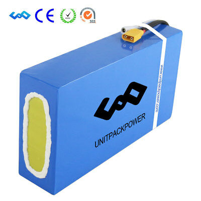 U.P.P 24V 36V 48V 60V 72V, Batterie au Lithium pour vélo électrique + Chargeur