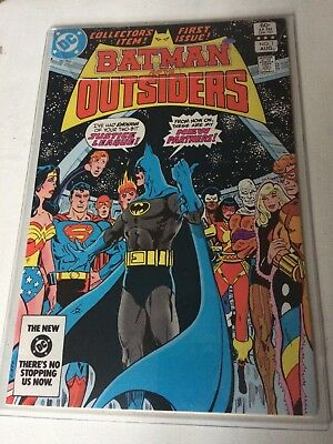 Batman and the Outsiders  #1 1983 KEY ISSUE! DC COMICS