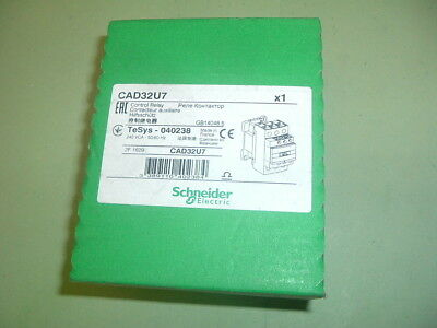 Schneider..... Cad32U7... Contactor 240 50/60.......... New Factory Sealed Boxed