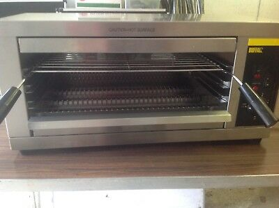 Buffalo P150 quartz grill salamander electric infrared commercial catering