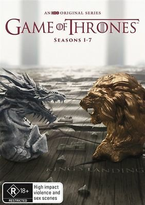 Game Of Thrones : Season 1-7 (DVD, 34-Disc Set) NEW