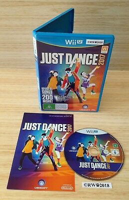Wii U JUST DANCE 2017 GAME - MINT DISC 9.9/10 - FAST DISPATCH - AUS PAL NINTENDO