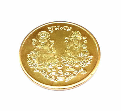 Shubh Labh Laxmi Ganesh Pocket Coin To Increase Your Business Energized
