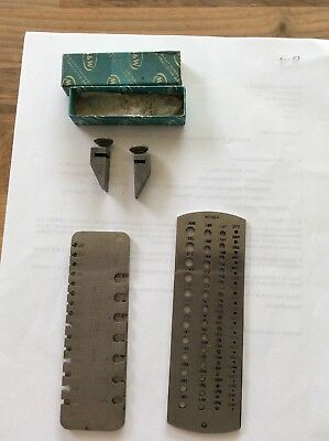 moore wright Drill Gauge Wire Gauge
