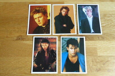 5 Duran Duran Panini The Smash Hits Collection 87 Stickers 1987