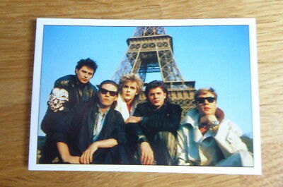 Duran Duran Panini The Smash Hits Collection 87 Sticker #46 1987 Mint