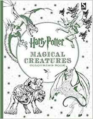Harry Potter Magical Creatures Colouring Book 2, New, Warner Brothers Book