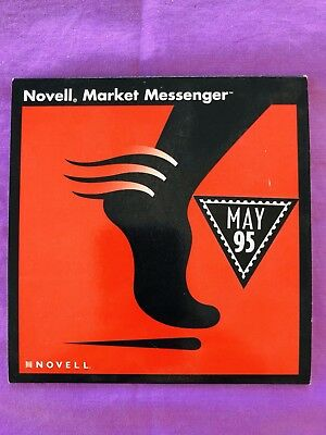 Vintage PC Software - Novell Market Manager (1995).  CD-ROM Install Disc & Case.