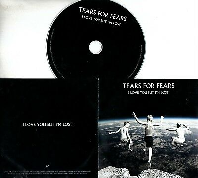 TEARS FOR FEARS I Love You But I'm Lost 2017 UK 1-trk promo test CD